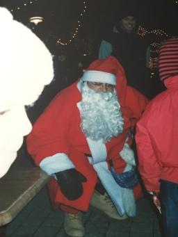 Cocuklar ve Noel baba