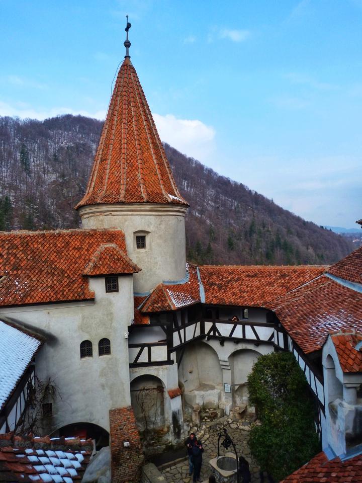 bran castle bran kalesi romania