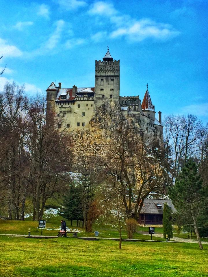 Bran Castle Brasov Romania - Bran Kalesi Romanya