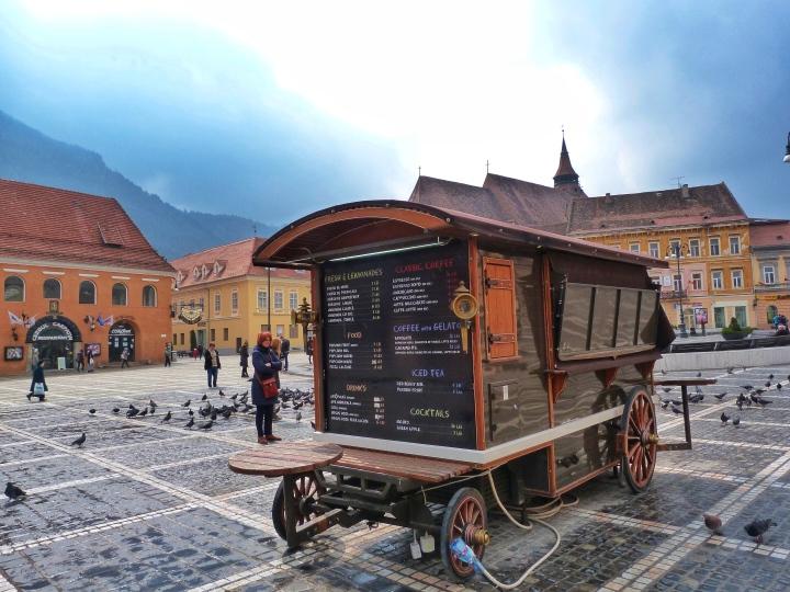 Brasov Romanya Avrupa