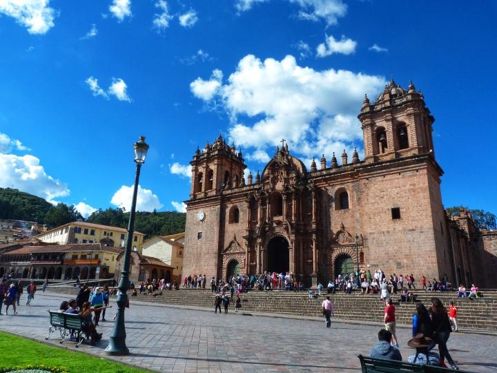 Plaza De Armas Cathedral Cusco Peru